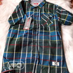 Quality Kiddies Short Sleeve Shirt Up To 16yrs Old   Children's Clothing for sale in Lagos State, Ikeja