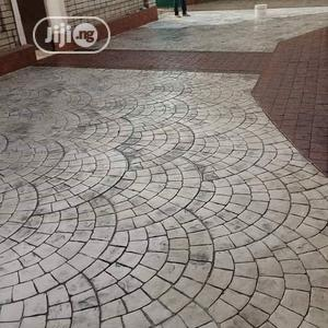 Stamped Concrete Pavers   Landscaping & Gardening Services for sale in Ondo State, Akure