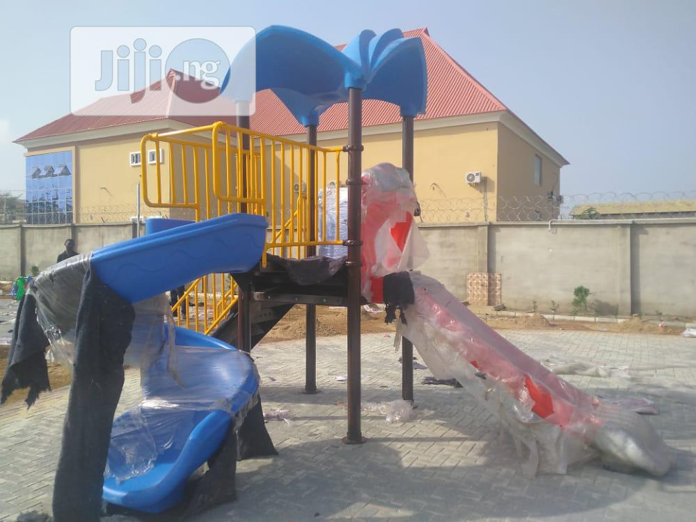 Various Set Of Playground Equipment's Available In Stock