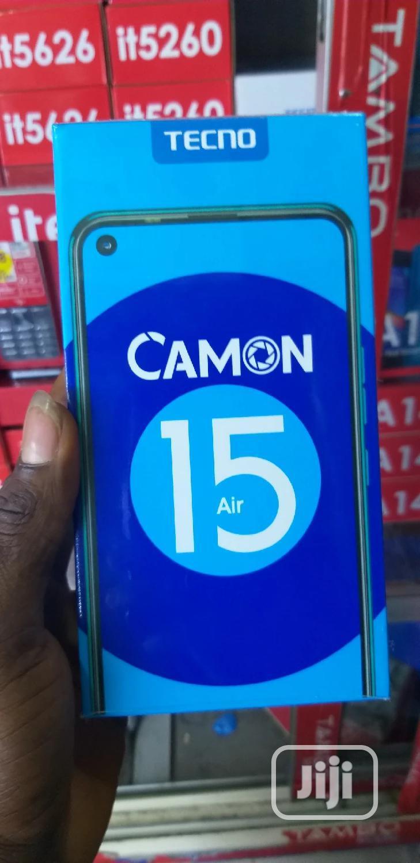 New Tecno Camon 15 Air 64 GB Black
