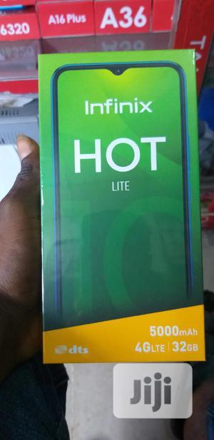 New Infinix Hot 10 Lite X657B 32 GB Black   Mobile Phones for sale in Lagos State, Ikeja