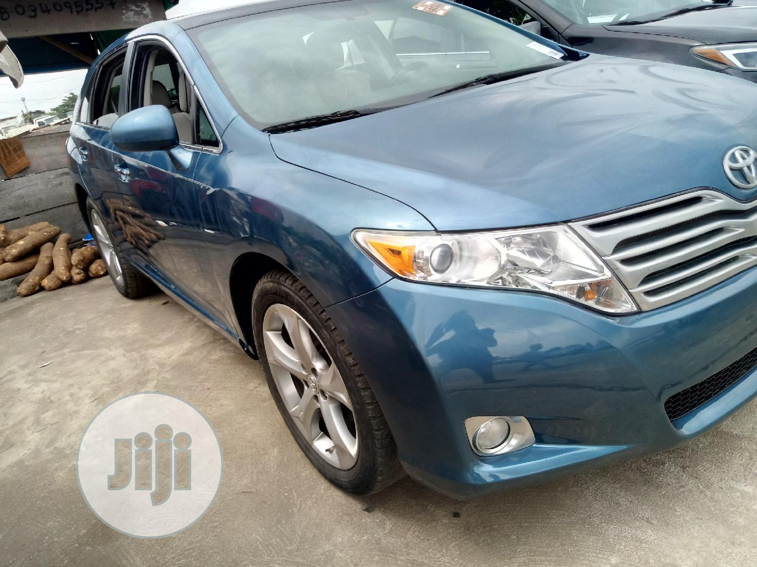 Toyota Venza 2010 V6 AWD Blue   Cars for sale in Apapa, Lagos State, Nigeria