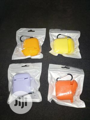 Apple Airpod 1 And 2 Rubber Pouch   Accessories for Mobile Phones & Tablets for sale in Oyo State, Ibadan