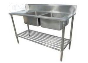 Double Bowl Sink   Restaurant & Catering Equipment for sale in Lagos State, Amuwo-Odofin