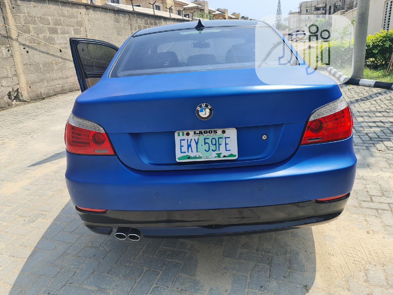 Archive: BMW 535i 2008 Blue