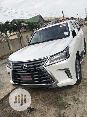 Lexus LX 2017 570 Base White | Cars for sale in Lagos State, Lekki