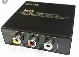 HDMI To AV Video Converter | Accessories & Supplies for Electronics for sale in Lagos State, Ojo