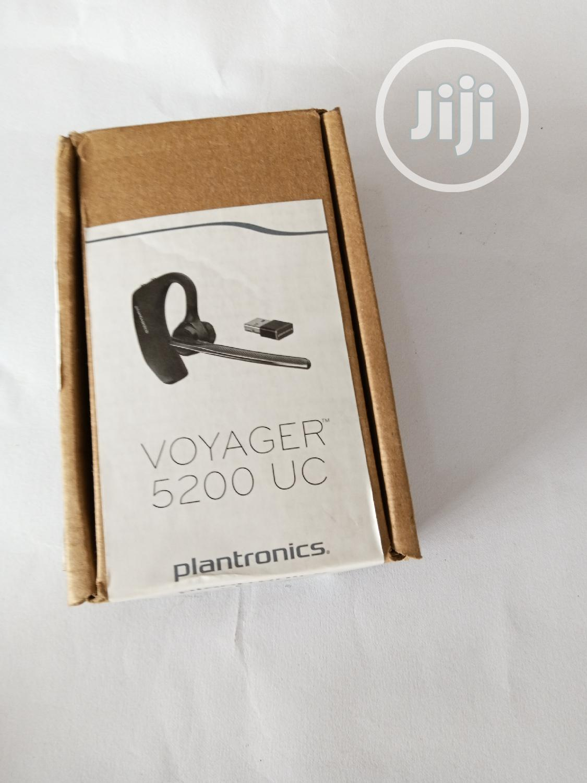 Plantronics Voyager 5200 UC Bluetooth Earpiece   Headphones for sale in Ikeja, Lagos State, Nigeria