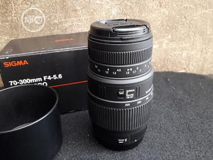 Sigma 70-300mm Lens For Canon Cameras | Accessories & Supplies for Electronics for sale in Lagos State, Ajah