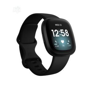 Fitbit Versa 3 Health And Fitness Smartwatch With GPS, 24/7   Smart Watches & Trackers for sale in Lagos State, Ikeja