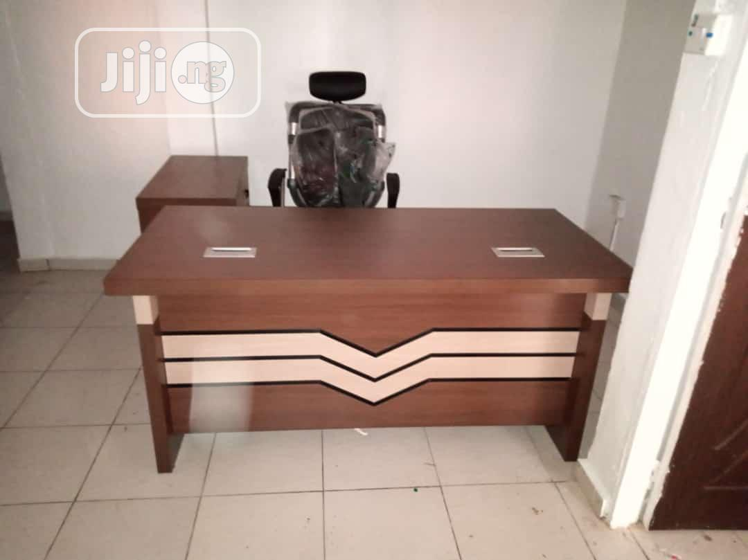 Executive Office Table and Chair