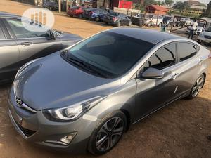 Hyundai Elantra 2013 Gray   Cars for sale in Abuja (FCT) State, Asokoro