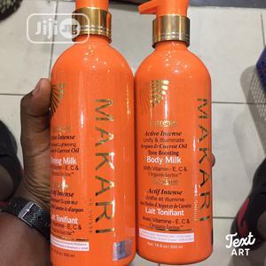 Makari Extreme Active Intense Argan&Carrot Oil Body Milk | Skin Care for sale in Lagos State, Ikorodu