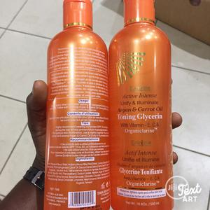 Makari Extreme Active Intense Argan Carrot Toning Glycerin | Skin Care for sale in Lagos State, Ikorodu