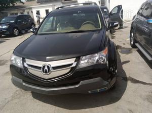 Acura MDX 2009 SUV 4dr AWD (3.7 6cyl 5A) Black   Cars for sale in Lagos State, Apapa