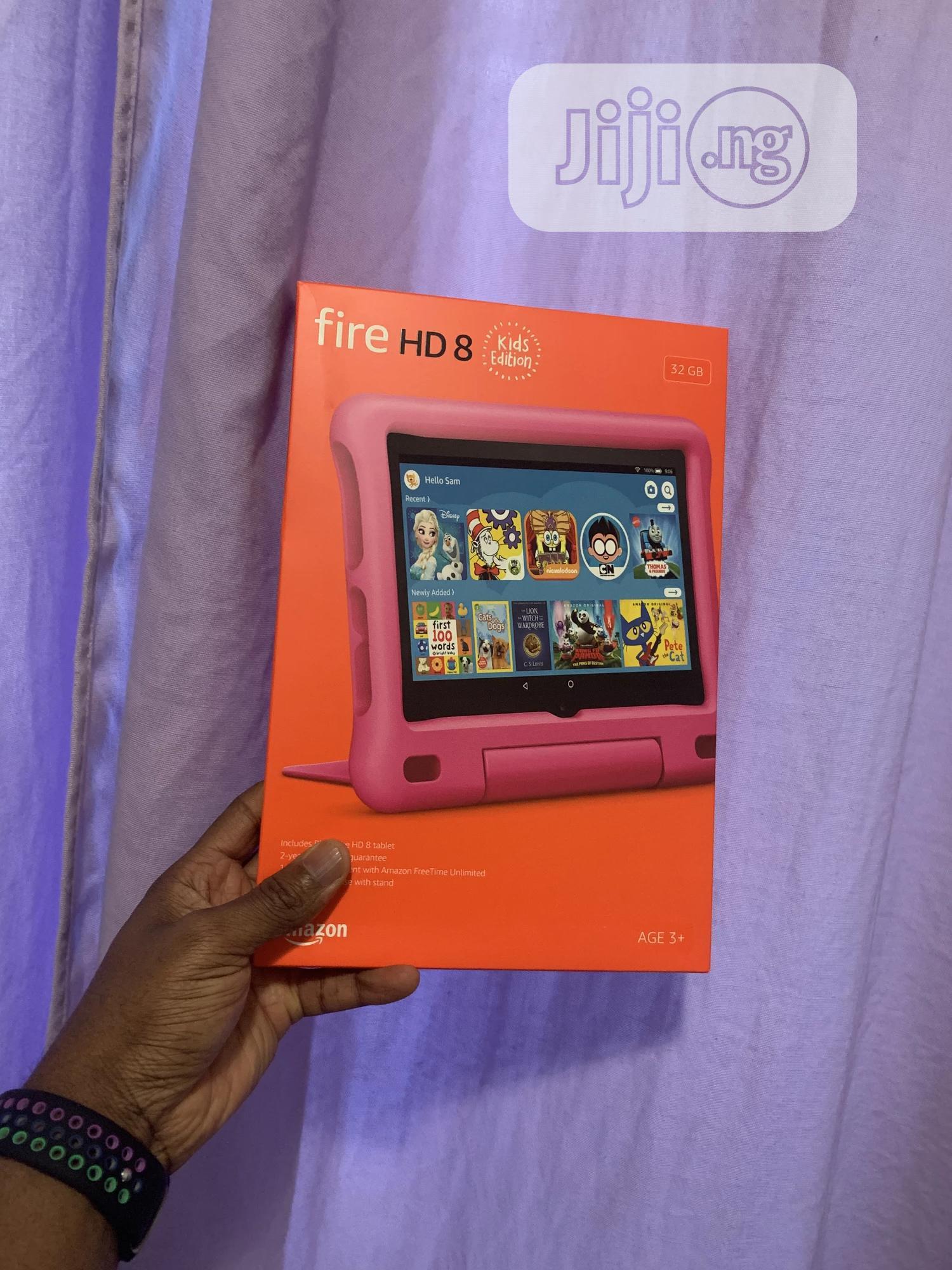 New Amazon Fire HD 8 (2020) 32 GB Pink
