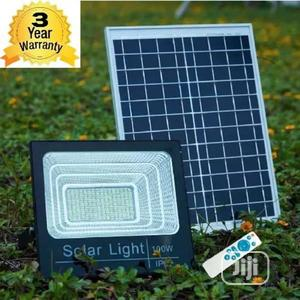 Waterproof Solar Flood Light With Remote Control - 100w | Solar Energy for sale in Lagos State, Ojo