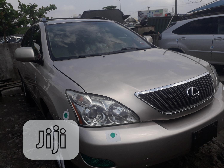 Lexus RX 2008 Gold | Cars for sale in Apapa, Lagos State, Nigeria