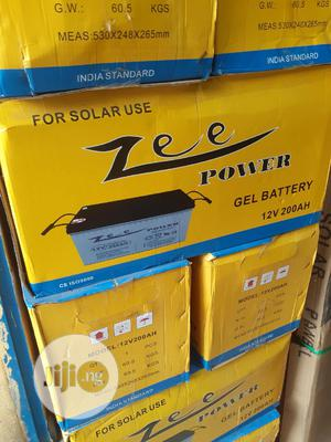 12v 200ah Zee Power Battery Is Available Now | Solar Energy for sale in Lagos State, Ojo