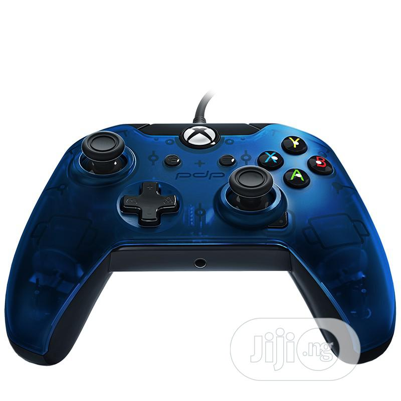 Wired Controller - Blue | Video Game Consoles for sale in Ikeja, Lagos State, Nigeria