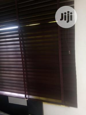 New Wooden Windows Blind for Sale 1 Month Old 15k | Home Accessories for sale in Lagos State, Ajah