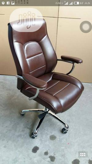 Best Office Chair Brown Black | Furniture for sale in Lagos State, Ojo
