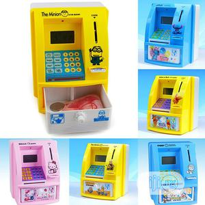 Electronic Piggy Bank Cash Mini Atm Bank Kids Gift | Toys for sale in Lagos State, Surulere