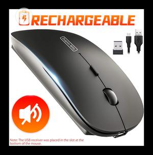 Dolphin Wills Rechargeable Wireless Mouse - Black | Computer Accessories  for sale in Lagos State, Yaba