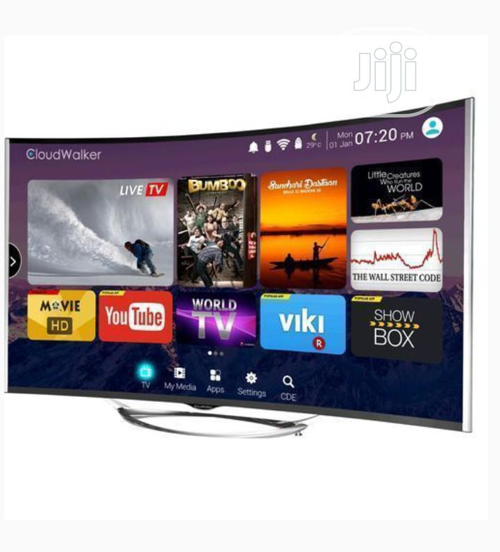 Polystar 43 Inch Full HD Android Smart Curved LED TV Netflix