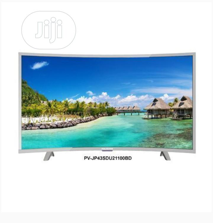 Polystar 43 Inch Full HD Android Smart Curved LED TV Netflix | TV & DVD Equipment for sale in Lokogoma, Abuja (FCT) State, Nigeria