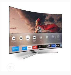 """Polystar 50"""" Inch Smart Curved LED TV - 4K 