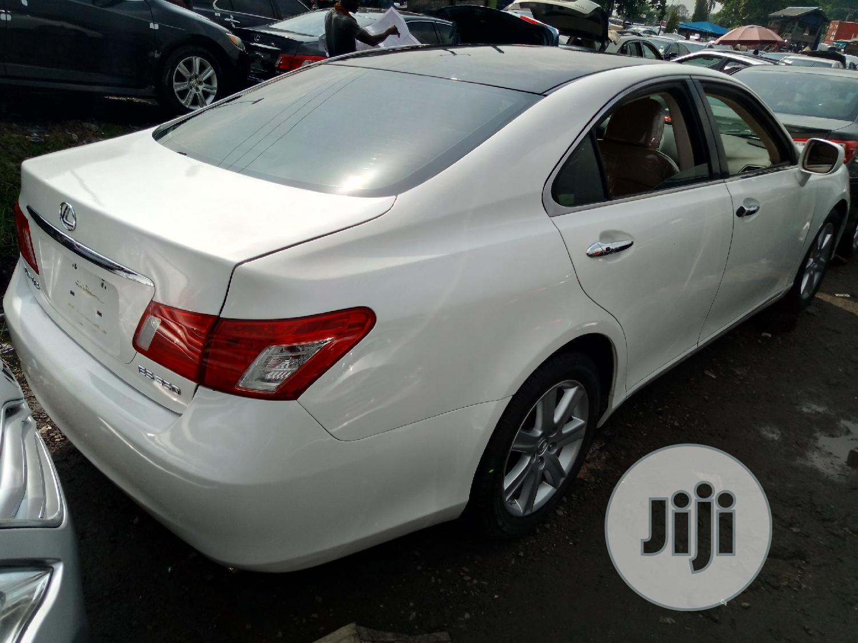 Lexus ES 2008 350 White   Cars for sale in Apapa, Lagos State, Nigeria