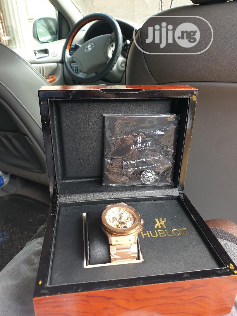 Archive: Hublot Geneve Wrist Watch
