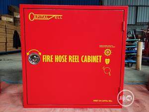Fire Hose Reel With Cabinet (Capital Tell) | Safetywear & Equipment for sale in Lagos State, Ikeja