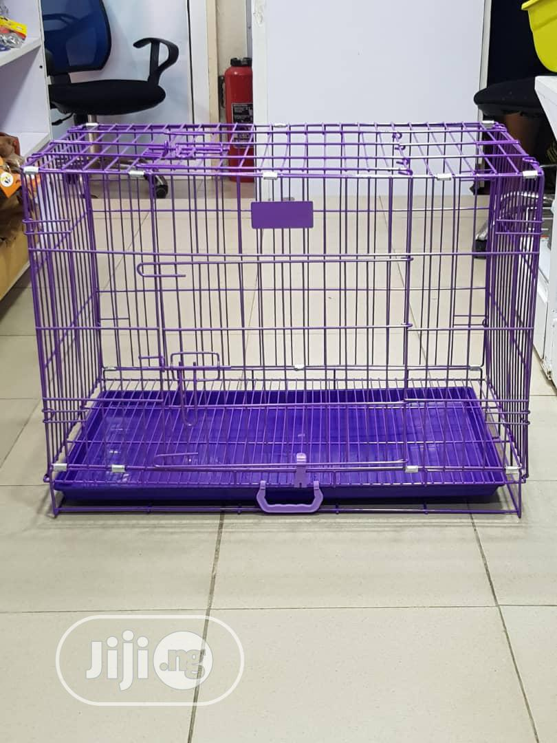 Strong Collapsible Dog Cage