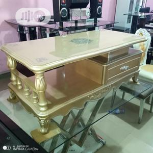 Gold Colour Center Table | Furniture for sale in Lagos State, Ojo