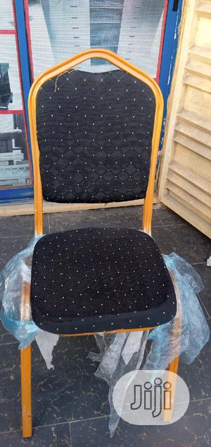 Black Medium Banquet Chair   Furniture for sale in Lagos State, Ojo