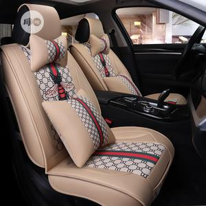 Classic Cream Butterfly Leather Seat Covers For Cars | Vehicle Parts & Accessories for sale in Lagos State, Ikoyi