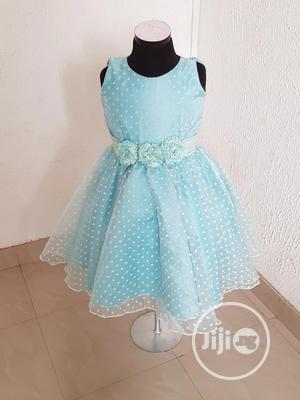 Light Blue Girls Dress | Children's Clothing for sale in Lagos State, Alimosho