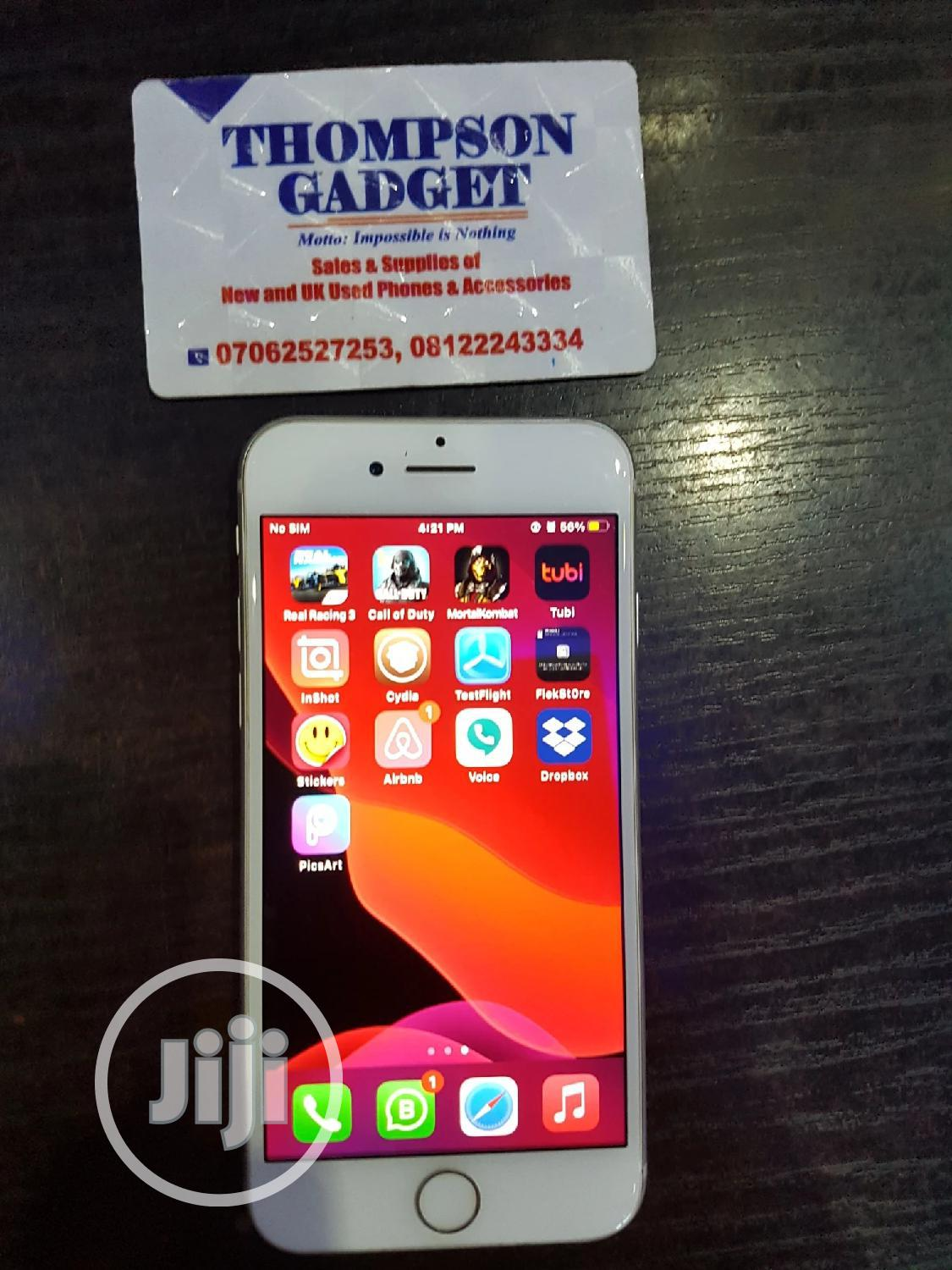 Apple iPhone 7 128 GB Silver   Mobile Phones for sale in Wuse, Abuja (FCT) State, Nigeria
