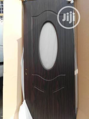 Toilet Wooden Glass Door | Doors for sale in Lagos State, Orile