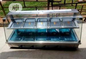 Brand New 2 Step Electric Food Warmer Display Showcase | Restaurant & Catering Equipment for sale in Lagos State, Ojo
