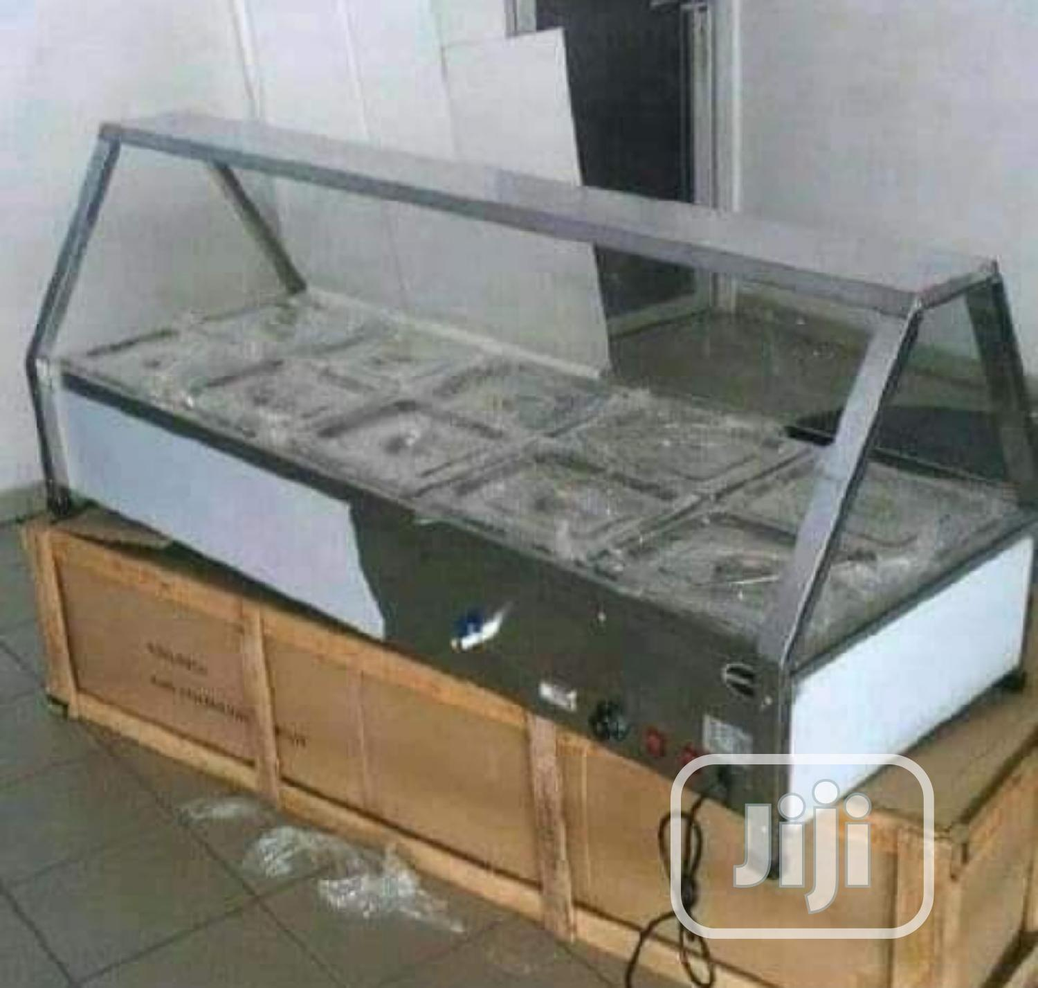 Brand New High Quality 10 Partitioned Food Warmer Display
