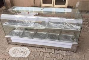 Brand New High Quality 2 Step Food Warmer Display | Restaurant & Catering Equipment for sale in Lagos State, Ojo