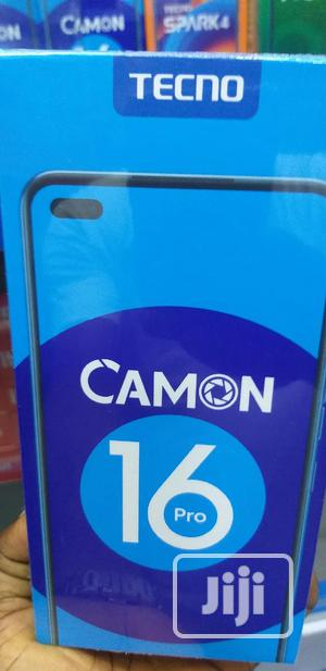 New Tecno Camon 16 Pro 64 GB Black   Mobile Phones for sale in Lagos State, Ikeja