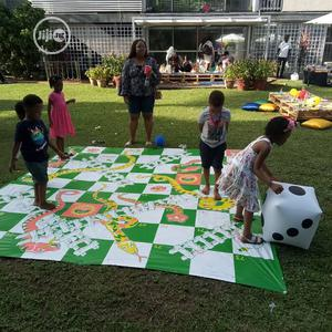 Giant Snake And Ladder Giant Scrabble Giant Chess Kids Game | Books & Games for sale in Lagos State, Lekki