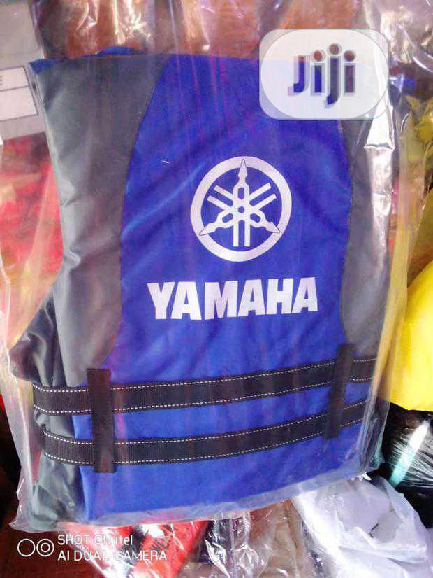 Archive: Yahama Quality Life Jacket With Emergency Touch Light.