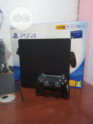 PS4 Slim Clean With Accessories | Video Game Consoles for sale in Edo State, Benin City