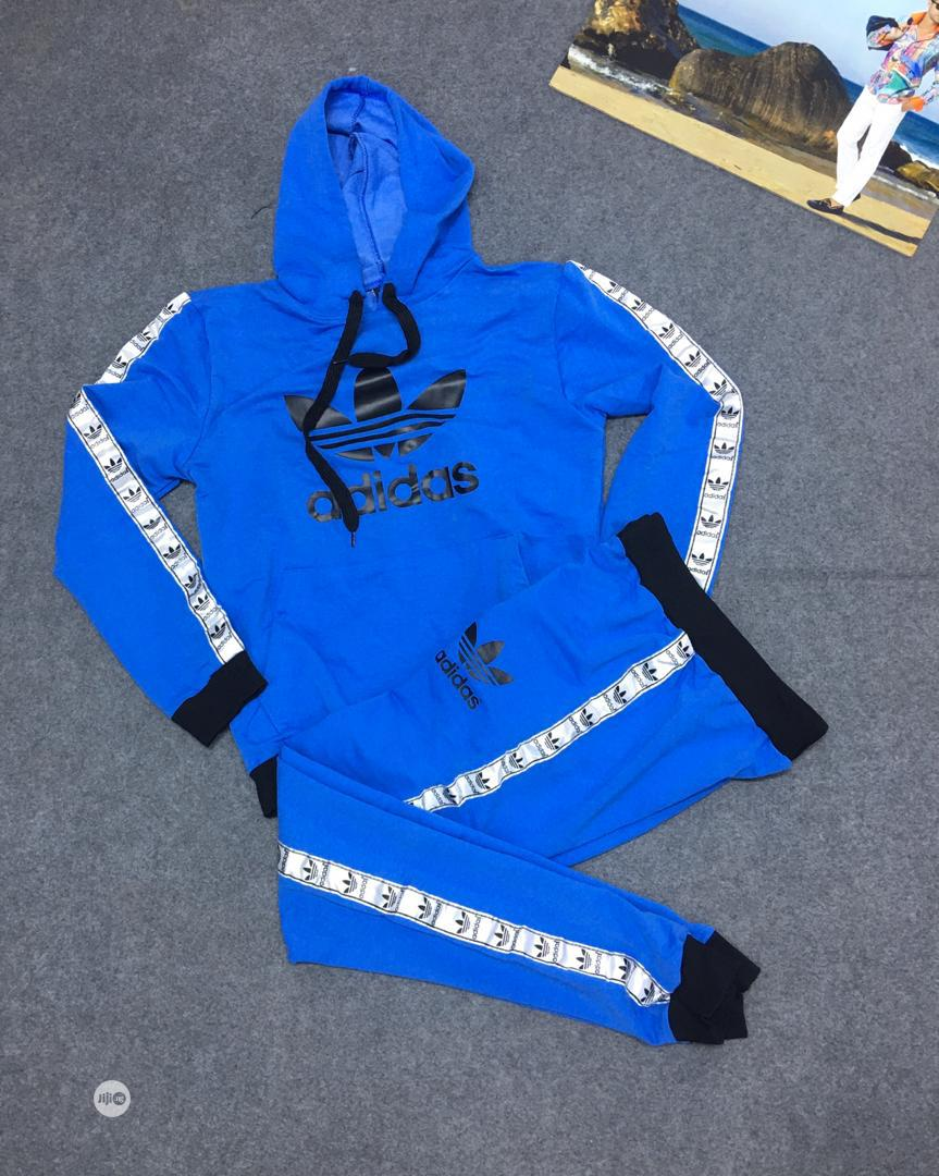 Addidas Designers Unisex Tracksuits | Clothing for sale in Ajah, Lagos State, Nigeria