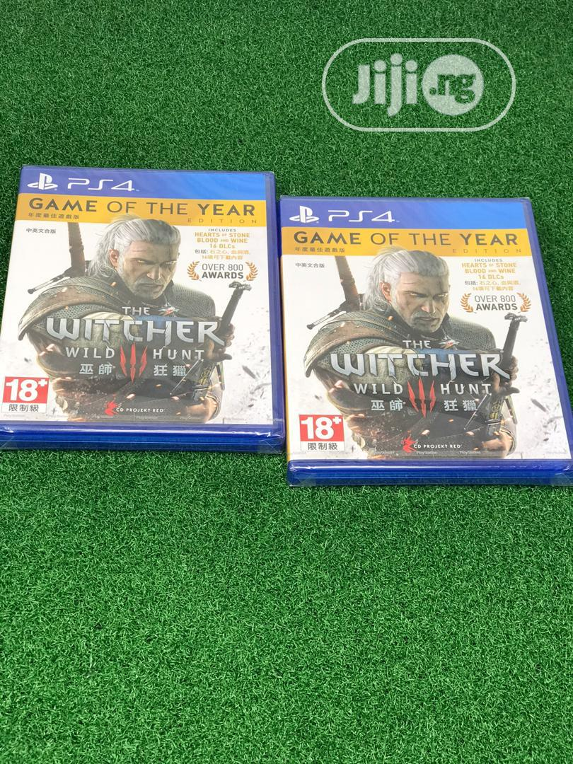 The Witcher Ps4 Game (Wild Hunt)   Video Games for sale in Ibadan, Oyo State, Nigeria